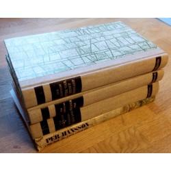 4 x Krigsbøker av Per Hansson - Alle omhandler 2. verdenskrig