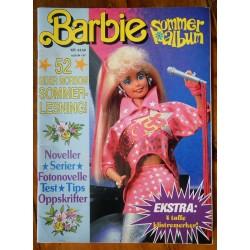 Barbie- Sommeralbum 1987- Med klistremerker