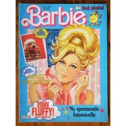 Barbie Nr. 3- 1988- Med hundeposter