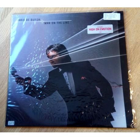 Chris De Burgh: Man on the Line (LP)