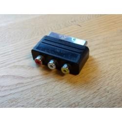 Composite til SCART adapter