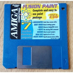 Amiga Computing Cover Disk: Christmas 1993 - Fusion Paint