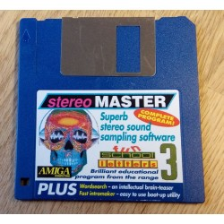 Amiga Computing Cover Disk: Stereo Master - Complete Program