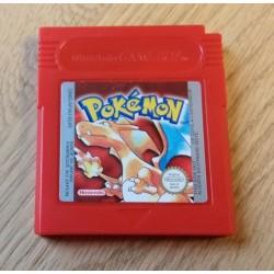 GameBoy: Pokemon - Red (cartridge)