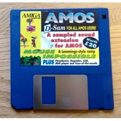 Amiga Computing Cover Disk: D-Sam for AMOS - Mouse Impossible