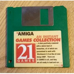 CU Amiga Cover Disk Nr. 22: An Instant Game Collection