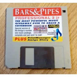 Amiga Computing Cover Disk: Bars & Pipes Professional 2 jr