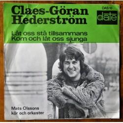 Claes- Göran Hederström- Låt oss stå tillsammans