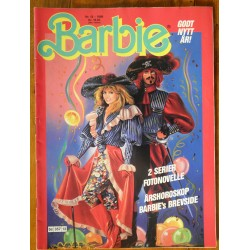 Barbie- Nr. 12- 1988- med Barbie- poster