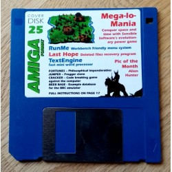 Amiga Format Cover Disk Nr. 25: Mega-lo-Mania