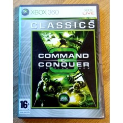 Xbox 360: Command & Conquer 3 - Tiberium Wars (EA Games)