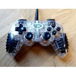 Mad Catz - Gjennomsiktig håndkontroll til Playstation 1 og 2