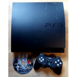 Playstation 3 Slim - 120 GB - Komplett konsoll med Crysis 2