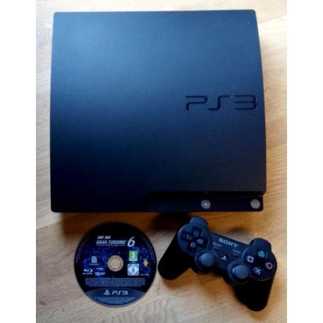 Playstation 3 Slim - 150 GB - Komplett konsoll med Gran Turismo 6