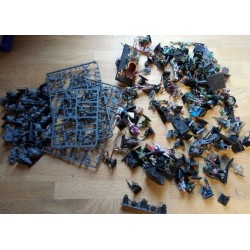 Warhammer - Stor samling figurer