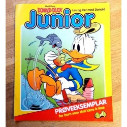 Donald Duck Junior - Prøveeksemplar