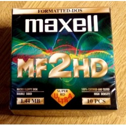 Maxell - MF2HD - 10 x Disketter