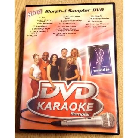 DVD Karaoke Sampler - Morph-1 Sampler DVD