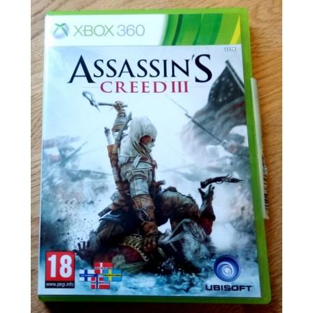 Xbox 360: Assassin's Creed III (Ubisoft)