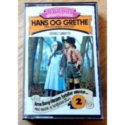 Barnas Eventyrserie: Nr. 2 - Hans og Grethe - Den flyvende koffert (kassett)