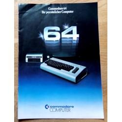 Commodore 64 - Ihr persönlicher Computer