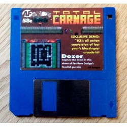 Amiga Format Cover Disk Nr. 58C: Total Carnage