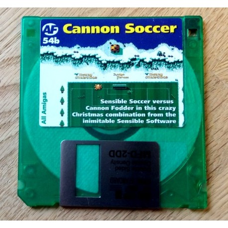 Amiga Format Cover Disk Nr. 64B: Cannon Soccer