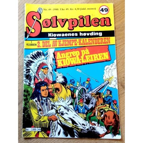 Sølvpilen: 1980 - Nr. 49 - Angrep på Kiowa-leiren