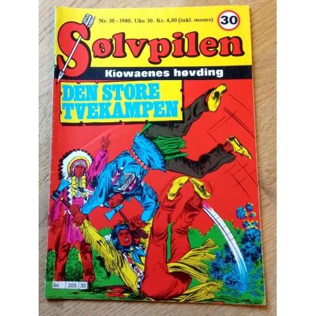 Sølvpilen: 1980 - Nr. 30 - Den store tvekampen