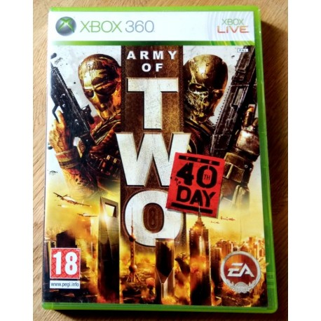 Xbox 360: Army of Two - The 40th Day (EA Games)