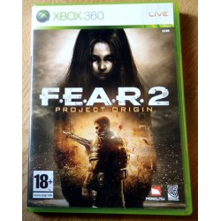 Xbox 360: Fear 2 - Project Origin (WB Games)
