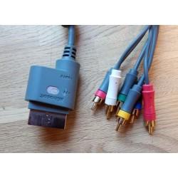 Xbox 360: Component / Composite TV-ledning