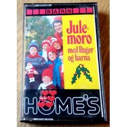 Julemoro med Roger og barna (kassett)
