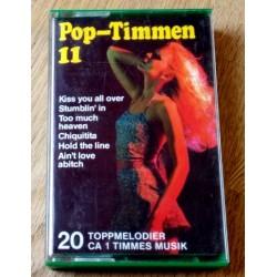 Pop-Timmen 11 - 20 Toppmelodier (kassett)