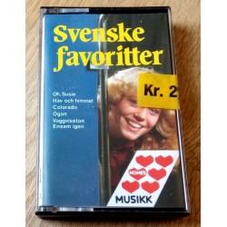 Svenska Favoritter (kassett)