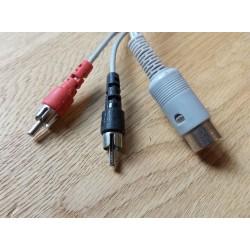DIN Adapterkabel - DIN til RCA
