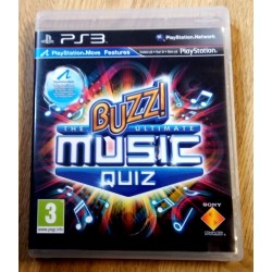 Playstation 3: Buzz! - The Ultimate Music Quiz