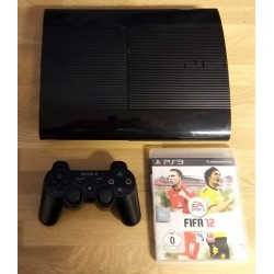 Playstation 3 Super Slim: Komplett konsoll med spill