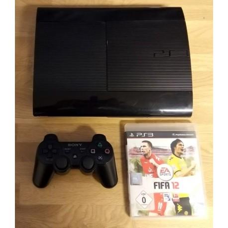 Playstation 3 Super Slim: Komplett konsoll med spill