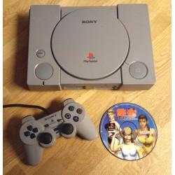 Playstation 1: Komplett konsoll med Tekken 2