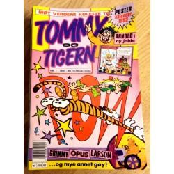 Tommy & Tigern 1993 - Komplett årgang med bladene 1 til 12