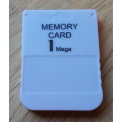 Playstation 1 - 1 MB Memory Card