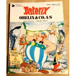 Asterix: Nr. 23 - Obelix & Co. A/S (1. opplag)