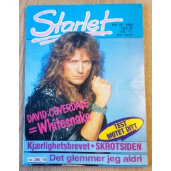 Starlet: 1988 - Nr. 18 - David Coverdale - Whitesnake