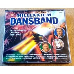 Millennium Dansband - De 70 största låtarna 1965-2000 (CD)