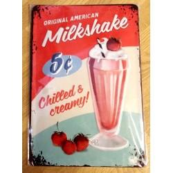 Original American Milkshake - Chilled and Creamy! - Nostalgic Art