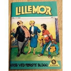Lillemor: 1987 - Nr. 17 - Krig ved første blikk!