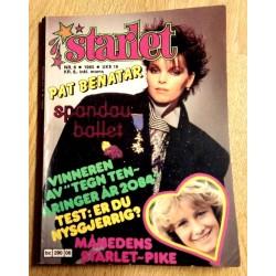 Starlet: 1985 - Nr. 6 - Pat Benetar