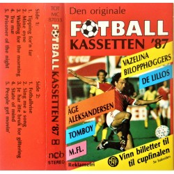 Den originale fotball kassetten '87