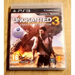 Playstation 3: Uncharted 3 - Drake's Deception (Naughty Dog)